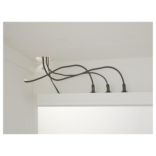 HEMNES Desk, white stain, 155x65 cm