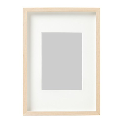 Hovsta Frame Birch Effect 21 X 30 Cm Ikea