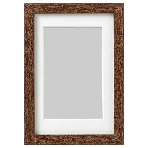 HOVSTA frame medium brown 10 cm 15 cm 8 cm 12 cm 7 cm 11 cm 12 cm 17 cm