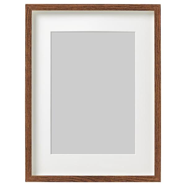 HOVSTA frame medium brown 30 cm 40 cm 21 cm 30 cm 20 cm 29 cm 32 cm 42 cm