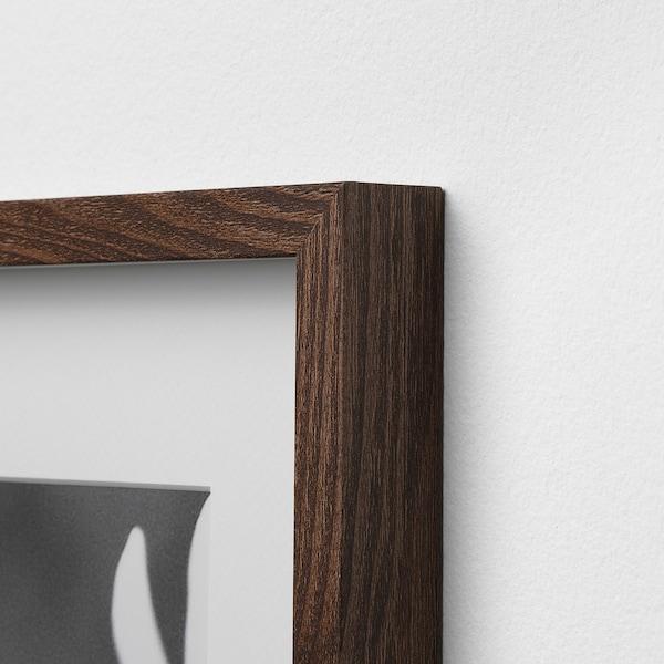 HOVSTA frame medium brown 50 cm 70 cm 40 cm 50 cm 39 cm 49 cm 52 cm 72 cm