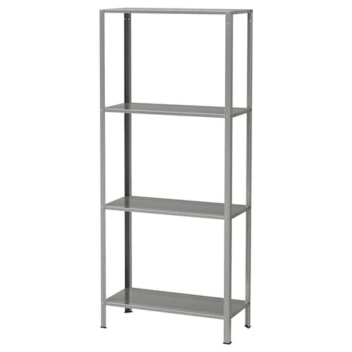 HYLLIS shelving unit in/outdoor 60 cm 27 cm 140 cm 25 kg