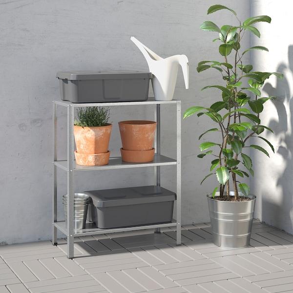 HYLLIS Shelving unit, in/outdoor, 60x27x74 cm