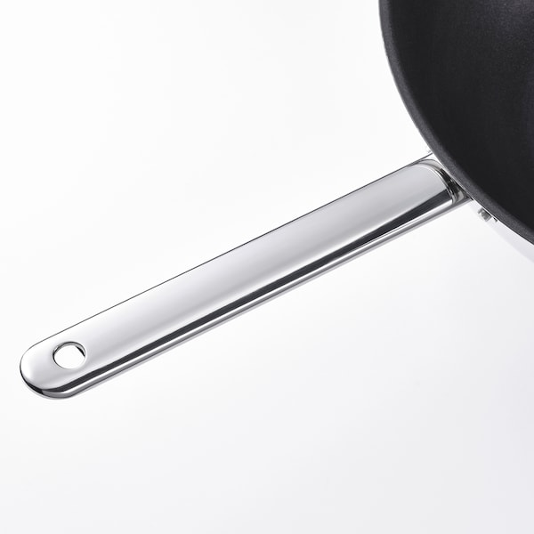 IKEA 365+ Wok, stainless steel/non-stick coating, 32 cm