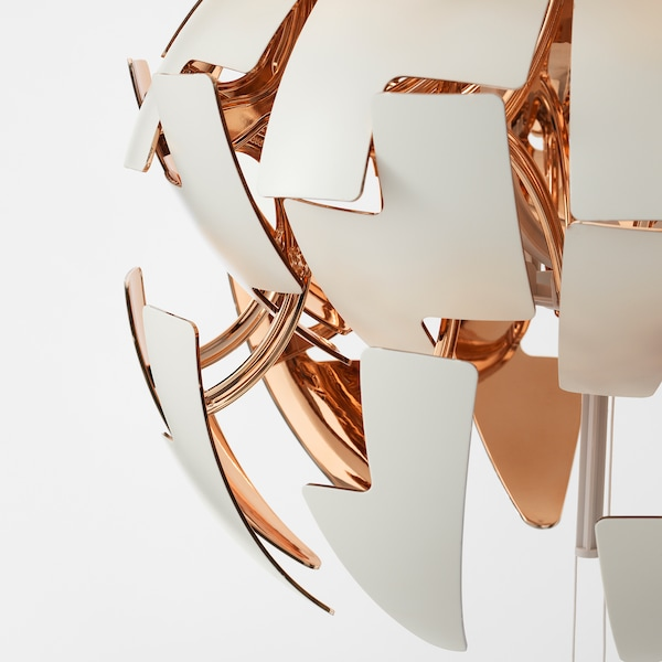 IKEA PS 2014 Pendant lamp white, copper color | Lámparas