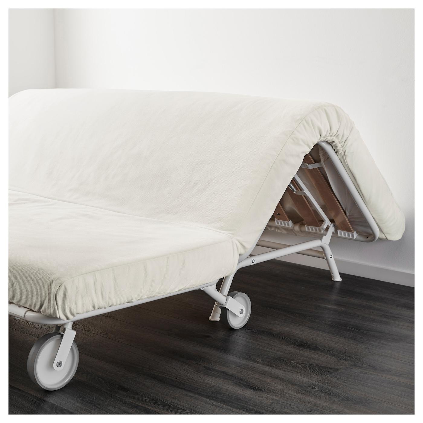 Ikea Ps LÖvÅs Two Seat Sofa Bed A Simple Firm Foam Mattress