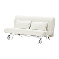 Ikea Ps Murbo Two Seat Sofa Bed Comfortable And Firm Foam Mattress For
