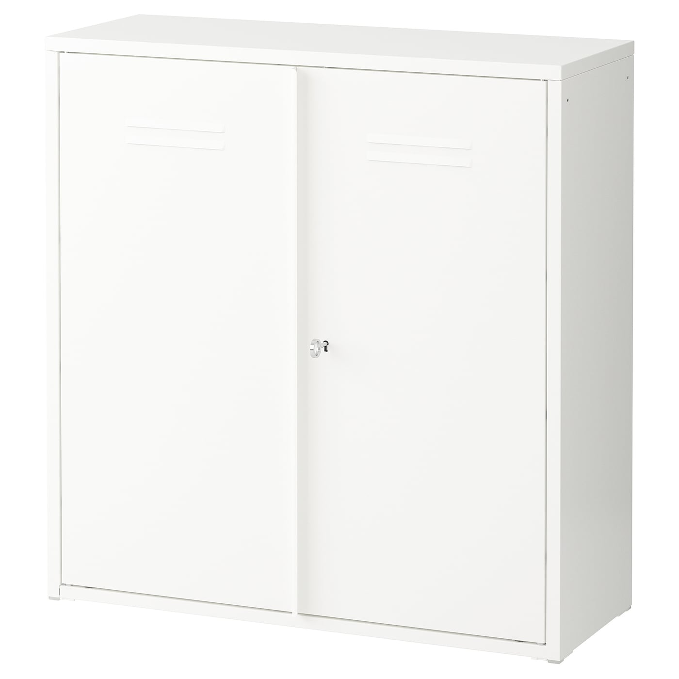 IKEA IVAR cabinet with doors You can adapt the inside when needed by moving the shelf up or down.