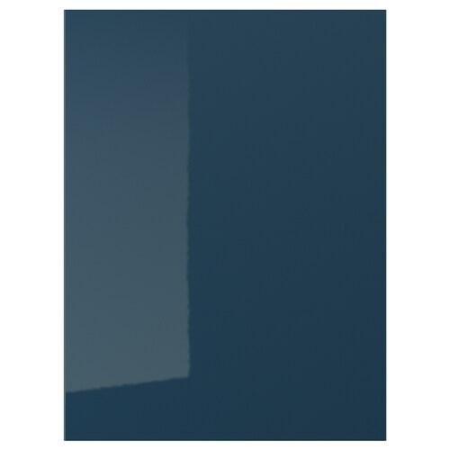 JÄRSTA door high-gloss black-blue 59.7 cm 80.0 cm 60.0 cm 79.7 cm 1.7 cm
