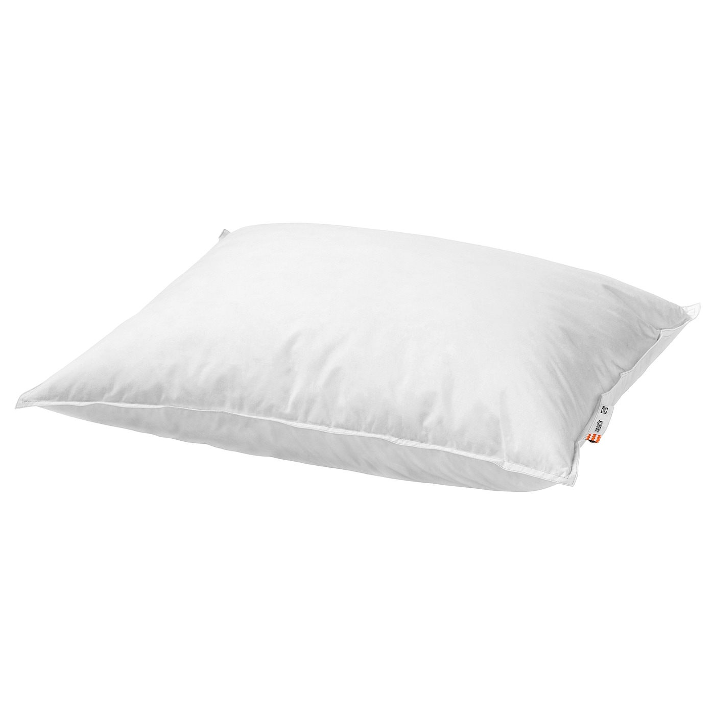 IKEA JORDRÖK pillow, softer A soft pillow in soft cotton, filled with duck down and feathers.