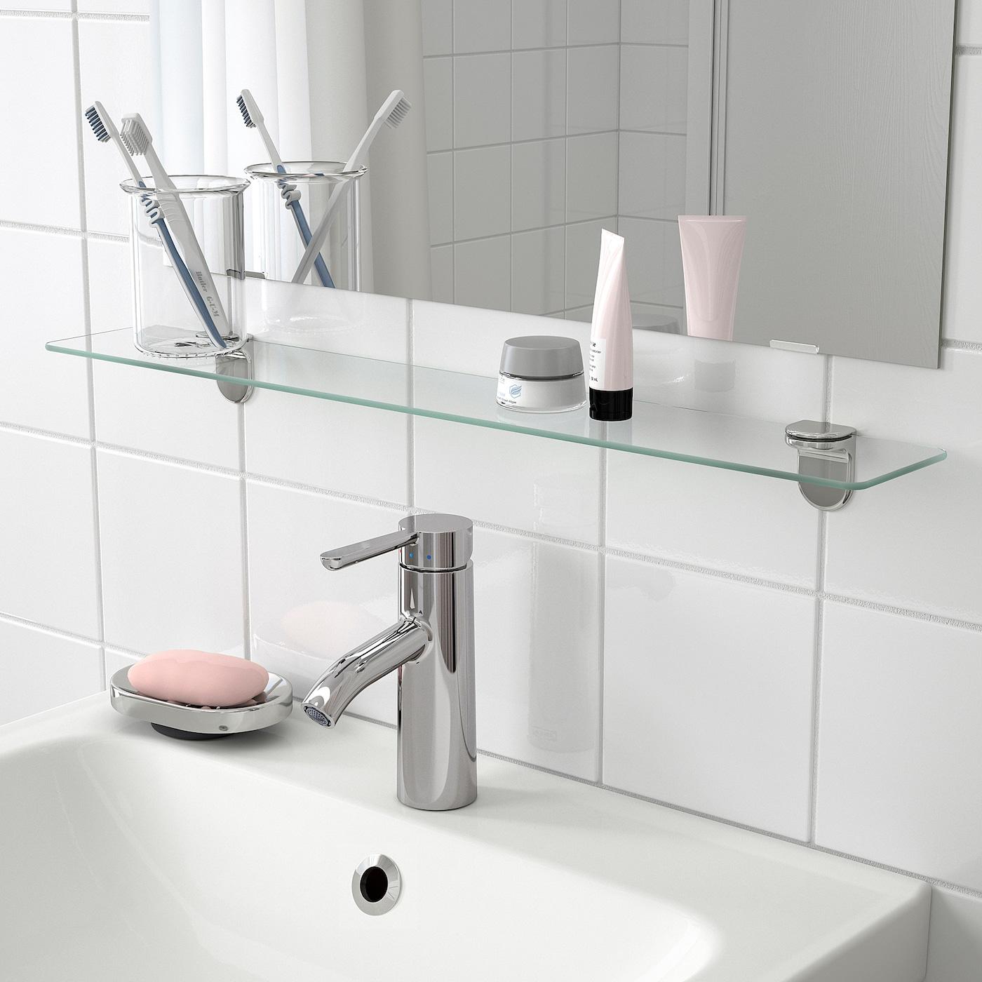 KALKGRUND Glass shelf 5x5 cm