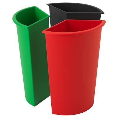 KARDORNA Waste sorting insert, 3 pack