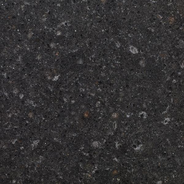 KASKER Custom made worktop, anthracite mineral effect/quartz, 1 m²x3.0 cm