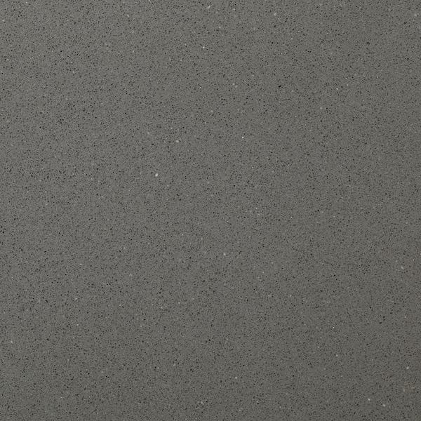 KASKER Custom made worktop, dark grey stone effect/quartz, 1 m²x3.0 cm