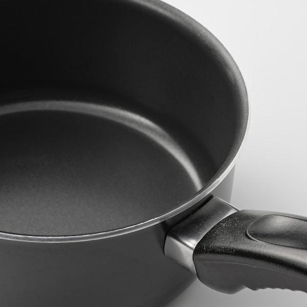 KAVALKAD Saucepan, set of 3, black