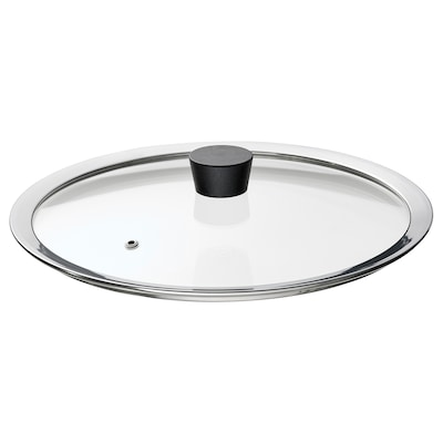 KLOCKREN Pan lid, glass, 29 cm