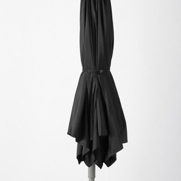 KUGGÖ / LINDÖJA parasol black 180 g/m² 240 cm 300 cm 38 mm