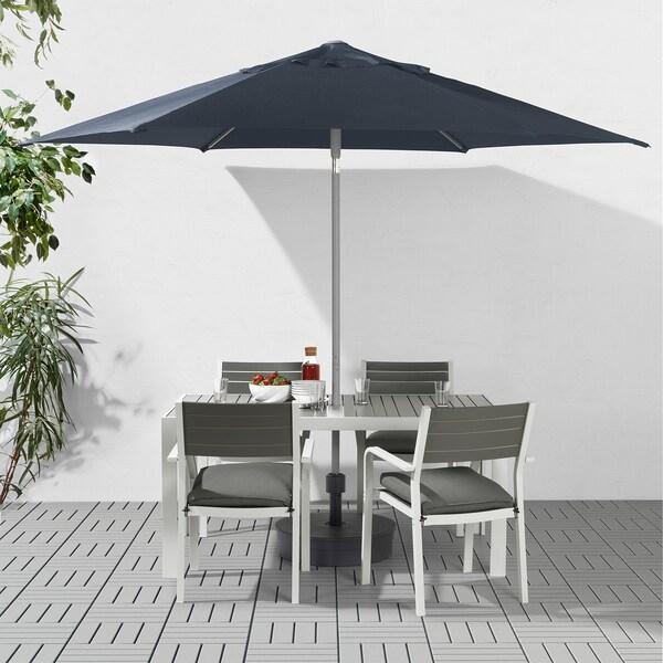 KUGGÖ / LINDÖJA parasol blue 180 g/m² 240 cm 300 cm 38 mm