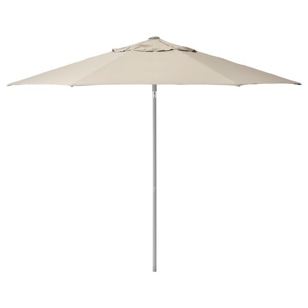 KUGGÖ / LINDÖJA parasol beige 200 g/m² 240 cm 300 cm 38 mm