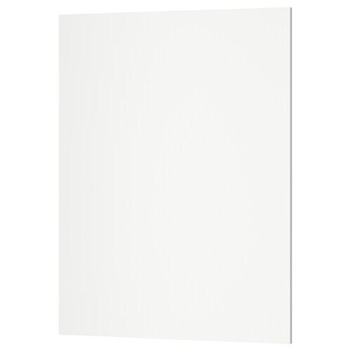 KUNGSBACKA cover panel matt white 61.5 cm 80 cm 62 cm 80.0 cm 1.5 cm