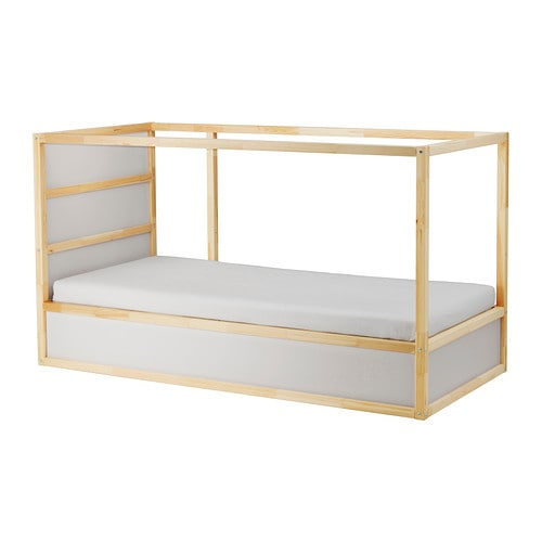 Kura Reversible Bed Whitepine 90 X 200 Cm Ikea