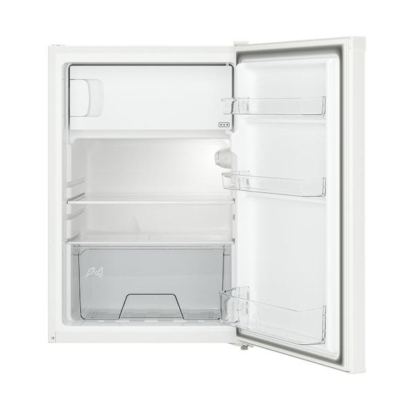 LAGAN Fridge with freezer compartment, freestanding/white, 97/16 l