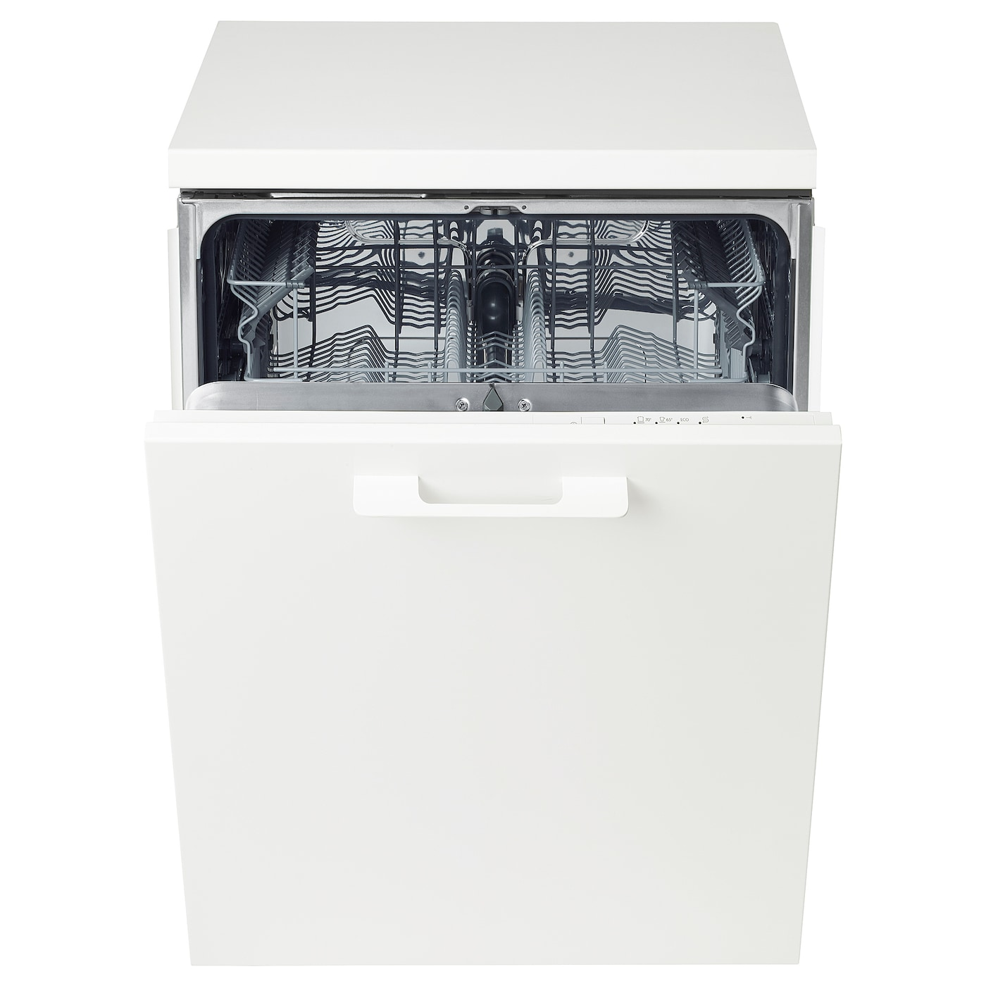 IKEA LAGAN integrated dishwasher 2 year guarantee. Read about the terms in the guarantee brochure.