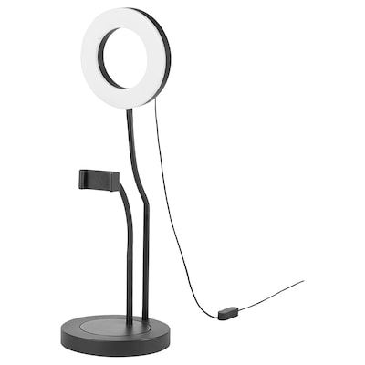 LÅNESPELARE Ring light with phone holder