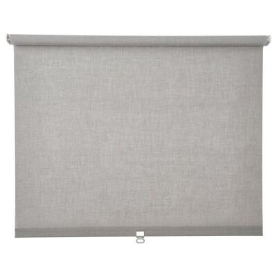 LÅNGDANS Roller blind, grey, 120x250 cm