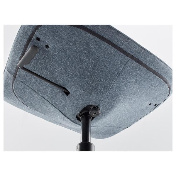 LÅNGFJÄLL office chair Gunnared blue/black 110 kg 68 cm 68 cm 92 cm 53 cm 41 cm 43 cm 53 cm