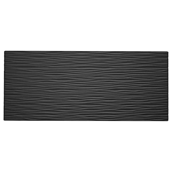LAXVIKEN drawer front black 60 cm 26 cm