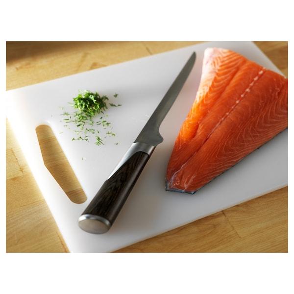 LEGITIM Chopping board, white, 34x24 cm