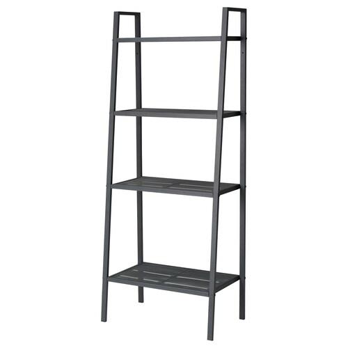 LERBERG shelf unit dark grey 60 cm 35 cm 148 cm 10 kg