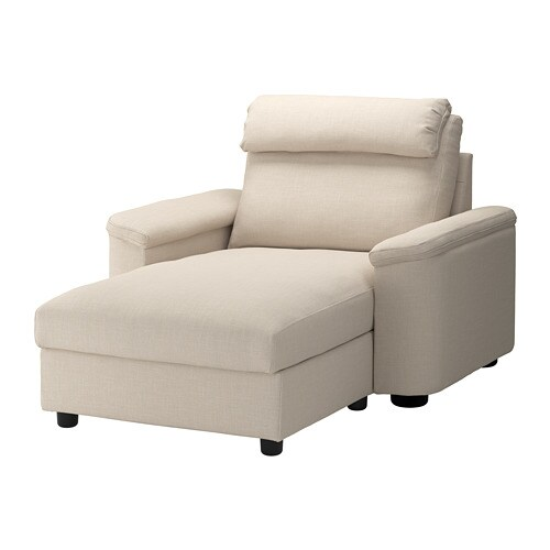 IKEA LIDHULT Chaise Longue 10 Year Guarantee Read About The Terms In Brochure