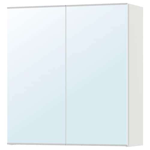 LILLÅNGEN mirror cabinet with 2 doors white 60 cm 21 cm 64 cm