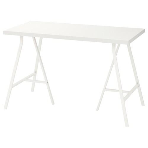 LINNMON / LERBERG table white 120 cm 60 cm 74 cm 50 kg