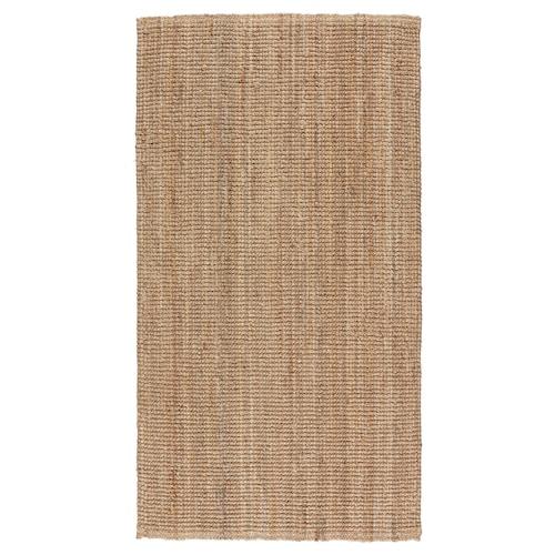 LOHALS rug, flatwoven natural 150 cm 80 cm 13 mm 1.20 m² 3200 g/m²