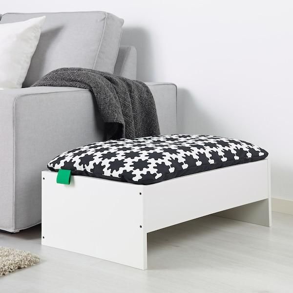 LURVIG frame for pet bed white 69.2 cm 44.6 cm 24 cm