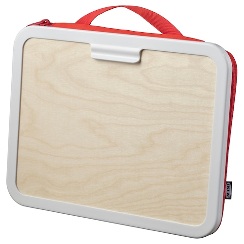 MÅLA portable drawing case red 35 cm 4 cm 27 cm