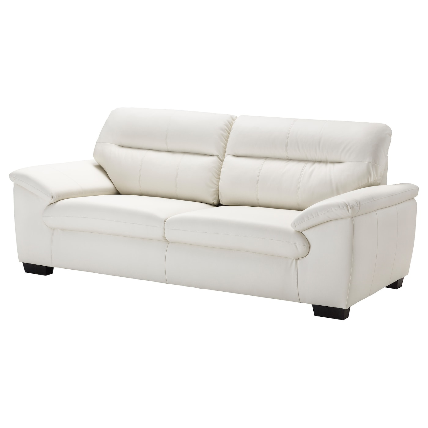 IKEA MALVIKEN 3-seat sofa Durable coated fabric that has the same look and feel as leather.