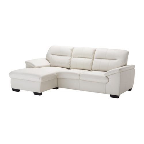 Ikea Malviken Two Seat Sofa With Chaise Longue