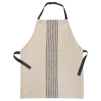MARIATHERES Children's apron, beige, 45x57 cm
