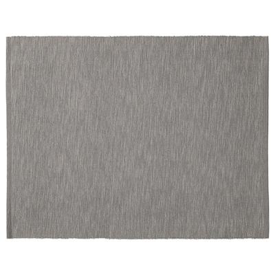 MÄRIT Place mat, grey, 35x45 cm