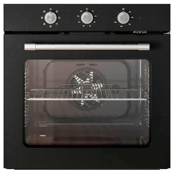 MATTRADITION Forced air oven black IKEA