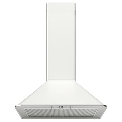MATTRADITION Wall mounted extractor hood, white, 60 cm
