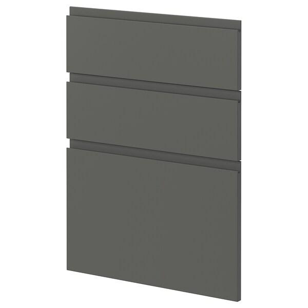 METOD 3 fronts for dishwasher Voxtorp dark grey 60.0 cm 88.0 cm 80.0 cm 2.2 cm