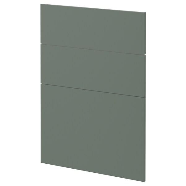 METOD 3 fronts for dishwasher Bodarp grey-green 60.0 cm 88.0 cm 80.0 cm 1.6 cm