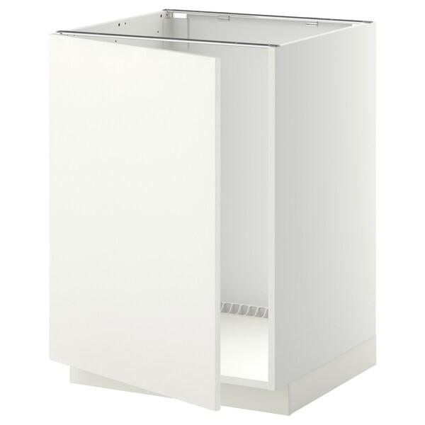 METOD base cabinet for sink white/Häggeby white 60.0 cm 61.6 cm 88.0 cm 60.0 cm 80.0 cm