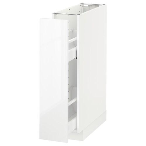 METOD base cabinet/pull-out int fittings white/Ringhult white 20.0 cm 61.8 cm 88.0 cm 60.0 cm 80.0 cm
