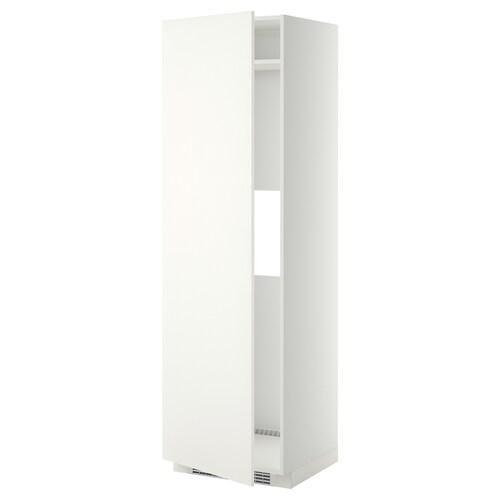 METOD high cab f fridge or freezer w door white/Häggeby white 60.0 cm 61.6 cm 208.0 cm 60.0 cm 200.0 cm